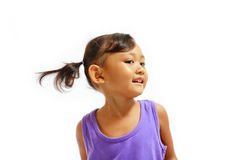 Cheerful asian little girl portrait Royalty Free Stock Images