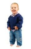 Cheerful baby. Stock Photos