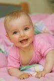 Cheerful baby Stock Photos