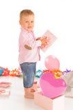 Cheerful baby boy Royalty Free Stock Photo