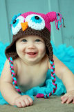 Cheerful Baby Girl Stock Photos