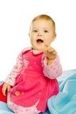 Cheerful baby girl Stock Photo