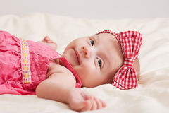 Cheerful Baby Girl Toddler Stock Photography