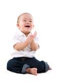 Cheerful baby Stock Image