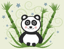 Cheerful Baby Panda Stock Photos