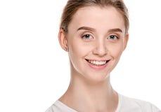 Cheerful Beautiful Woman Royalty Free Stock Photography
