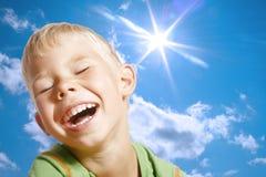 The cheerful boy. Stock Photos