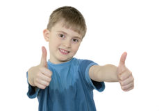 The cheerful boy Royalty Free Stock Images