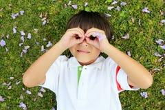Cheerful boy Stock Photo