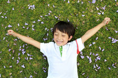 Cheerful boy Royalty Free Stock Photography