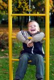 The cheerful boy Stock Images
