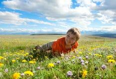 Cheerful boy Stock Image