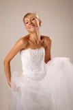 Cheerful bride Royalty Free Stock Photos