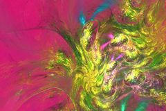 Cheerful bright multicolored abstraction Stock Photo