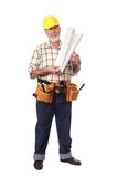 Cheerful builder Royalty Free Stock Photo