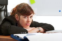 Cheerful business lady Royalty Free Stock Photography