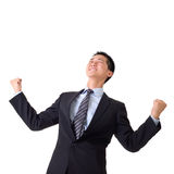 Cheerful business man Royalty Free Stock Photography