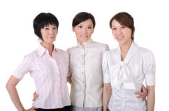 Cheerful  business team Stock Photos