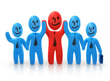 Cheerful business team Stock Photography