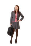 Cheerful business woma Stock Photos