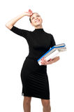 Cheerful business woman Stock Photography