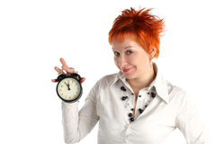 Cheerful Business Woman Stock Images