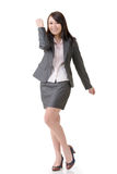 Cheerful business woman Royalty Free Stock Photo