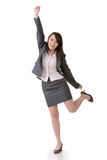 Cheerful business woman Royalty Free Stock Images