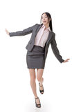 Cheerful business woman Royalty Free Stock Image