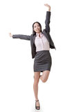 Cheerful business woman Royalty Free Stock Photos