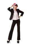 Cheerful business woman Royalty Free Stock Photography