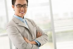 Cheerful businessman Stock Photography