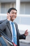 Cheerful businessman Stock Image