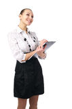 Cheerful businesswoman Stock Photography