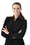 Cheerful businesswoman Royalty Free Stock Image