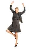 Cheerful businesswoman Stock Photography