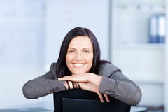 Cheerful businesswoman Royalty Free Stock Images