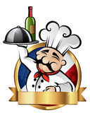 Cheerful Chef Illustration Royalty Free Stock Images