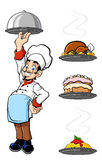 Cheerful chef Royalty Free Stock Photography