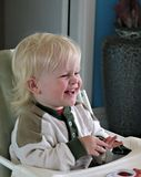 Cheerful child Stock Photos