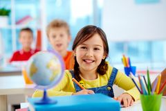 Cheerful child Stock Images