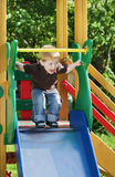 The cheerful child Royalty Free Stock Photo