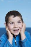 Cheerful child Stock Image
