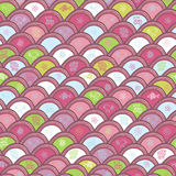 Cheerful childlike seamless pattern Stock Image