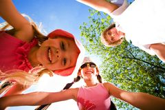 Cheerful children Royalty Free Stock Photography