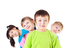 Cheerful children Stock Images