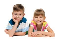 Cheerful children Stock Image
