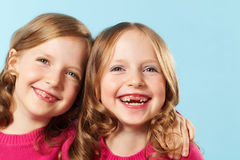Cheerful children Stock Photos