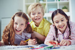 Cheerful children Stock Photography