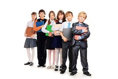 Cheerful children Royalty Free Stock Photo